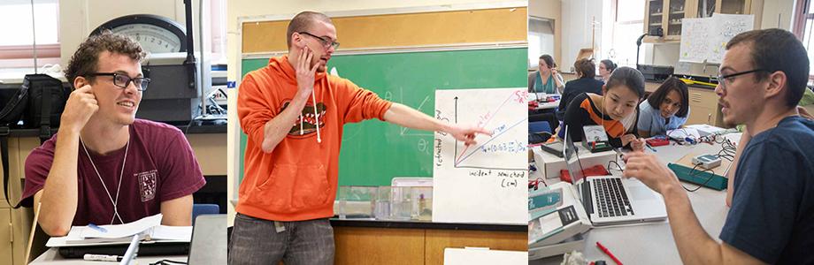 Patrick teaching montage