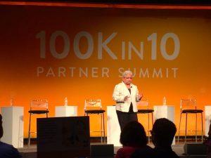 STEMteachersNYC at the 100kin10 Summit 2017